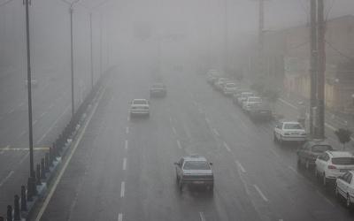 مهگرفتگی در برخی محورهای جنوب و شمال کشور/6محور مسدود شد