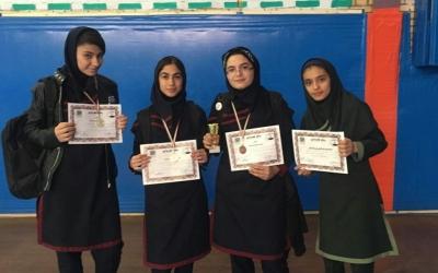 کسب مقام دوم رشته دو و میدانی دانش آموزان دختر اسلامشهر