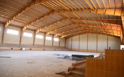سرانه فضای ورزشی دانش آموزی در شهرستان آران و بیدگل مطلوب است