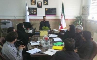 برگزاری جلسه کمیته برون سپاری سواد آموزی اداره آموزش و پرورش چهاردانگه
