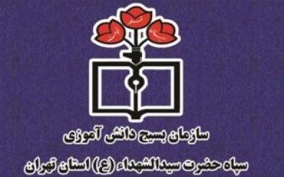 بیانیه سازمان بسیج دانش آموزی استان تهران به مناسبت یوم الله 9دی