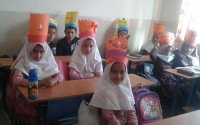 مدرسه روستای جلماجرد شهرستان خمین تعطیل نیست