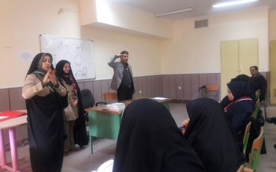 نشست آموزشی مربیان پیشتاز در کانون شهدای فرهنگی پاکدشت