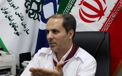 هماهنگی برنامه های یاوران انقلاب سازمان دانش آموزی شهرستانهای استان تهران از طریق ویدیو کنفرانس