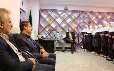 بازدید از مدرسه شاهد لاله ها در شهرری