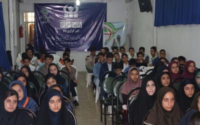 دوره خبرنگاری پانا برای دانش آموزان قزوین برگزار شد
