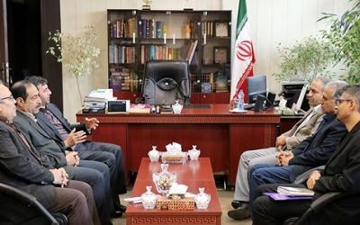 دیدار مدیرکل دامپزشکی استان تهران با فرماندار شهرستان بهارستان