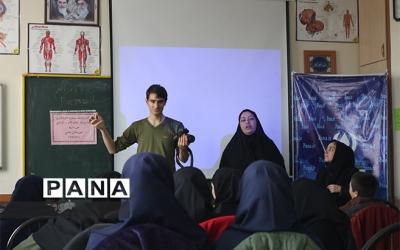 دوره آموزشی اصول خبر نویسی و عکاسی خبرنگاران پانا در ایلخچی