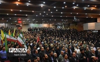 جشن پیروزی مقاومت در تالار اجتماعات مصلای اعظم امام خمینی (ره) تبریز
