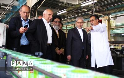 افتتاح فاز دوم کارخانه گروه صنایع غذایی بشارت با حضور معاون وزیر صنعت