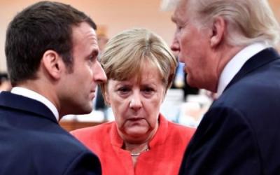 صف آرایی اروپا و آمریکا در داووس در مقابل یکدیگر
