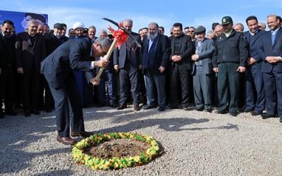 عملیات اجرایی نیروگاه 500 مگاواتی سیکلترکیبی منطقه آزاد ارس آغاز شد