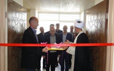 افتتاحیه نمازخانه هنرستان آیت الله کاشانی