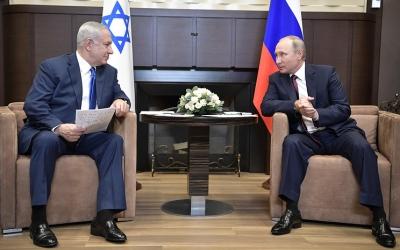 پوتین و نتانیاهو در مسکو درباره ایران گفتوگو میکنند