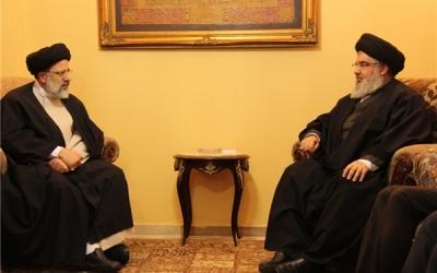 رئیسی در بیروت با سید حسن نصرالله دیدار کرد