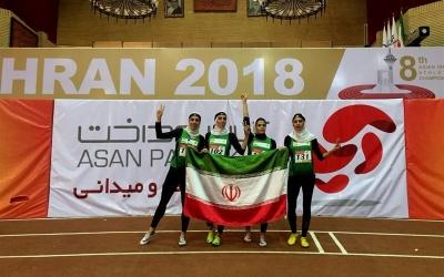 دوومیدانی قهرمانی داخل سالن آسیا؛ مدال نقره دوی امدادی 4 بر 400 متر به ایران رسید
