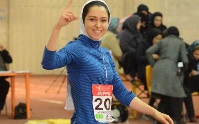 دوومیدانی قهرمانی داخل سالن آسیا؛ فرزانه فصیحی اولین مدال آور ایران در روز دوم