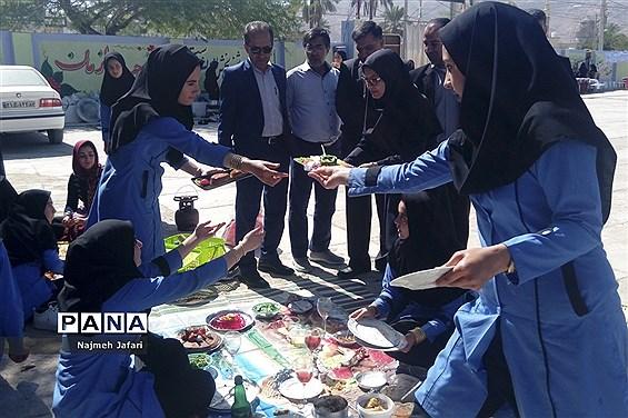 جشنواره غذا سالم در« زرین دشت »
