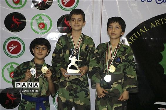 اولین دوره مسابقات قهرمانی  هنرهای رزمی شییوبی ایران