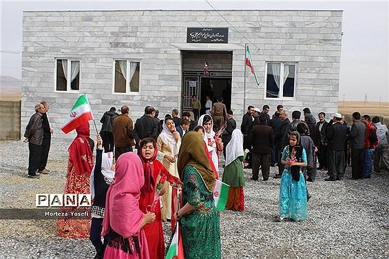 افتتاح مدرسه خیرساز روستای قاضی جوب دهگلان