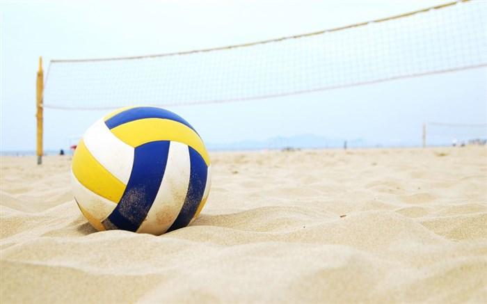 لوگو والیبال ساحلی