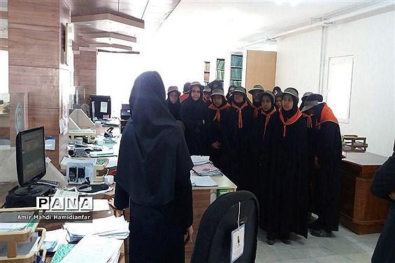 بازدید تشکیلات پیشتازان  سازمان دانش آموزی  از سازمان تامین اجتماعی