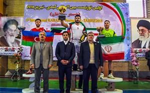 قهرمانی تیم ایران در مسابقات کبدی بین المللی شبستر