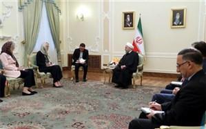 روحانی: علاقهمندیم درباره فروش گسترده تسلیحات مخرب به کشورهای منطقه با دوستان اروپایی گفتوگو کنیم