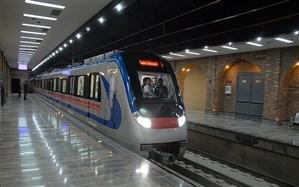 علتیابی خروج قطار از ریل خط ۲ مترو در کمیسیون سانحه