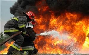 حریق منزل ۵ نفر را دچار سوختگی کرد