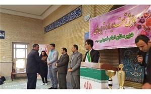 همایش تقدیر از خیرین و برترین های دبیرستان امام خمینی (ره) شهر لومار