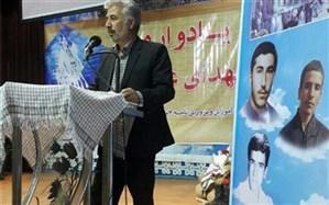 یادواره شهدای غواص در ناحیه 7 مشهد برگزار شد
