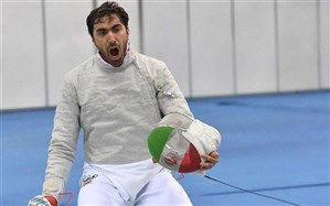 شمشیربازی قهرمانی آسیا؛ علی پاکدامن مدال برنزش را قطعی کرد