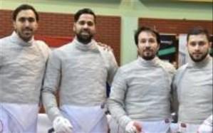 نایب قهرمانی فرزاد باهر ارسباران  شمشیرباز تبریزی همراه تیم ملی ایران در مسابقات جهانی