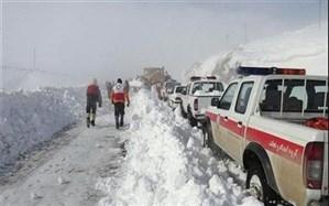 ۱۵ استان درگیر برف و کولاک