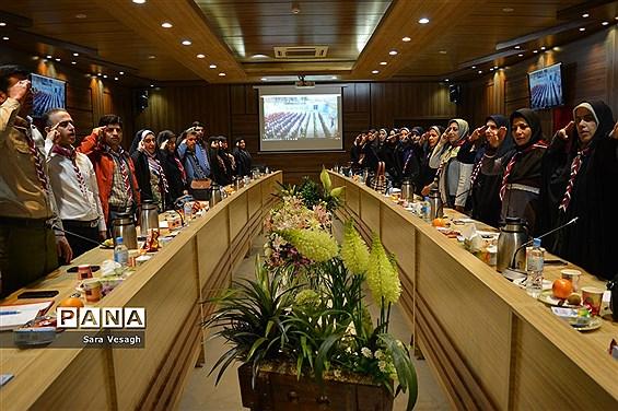 نشست هم اندیشی مسئولین سازمان دانش آموزی شهرستانهای استان تهران