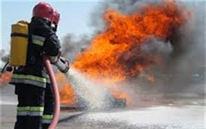 آتشسوزی در کارگاه سه طبقه تولید کفش در خیابان سپهسالار