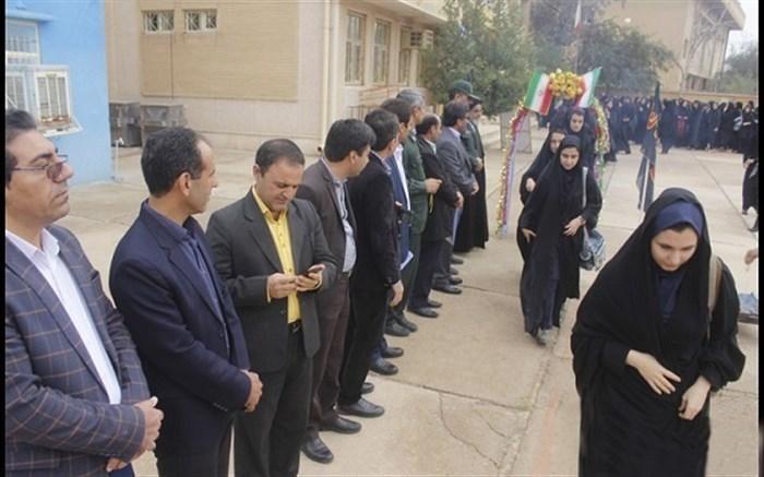 اعزام دانش آموزان به مناطق عملیاتی