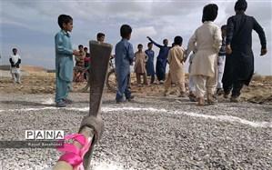 آغاز عملیات ساخت مدرسه ۱۲ کلاسه در منطقه لار زاهدان