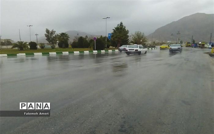 بارش باران در استان فارس