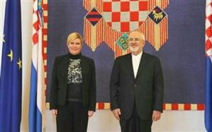 ظریف: ایران می تواند منبع مطمئنی برای تامین انرژی کرواسی باشد