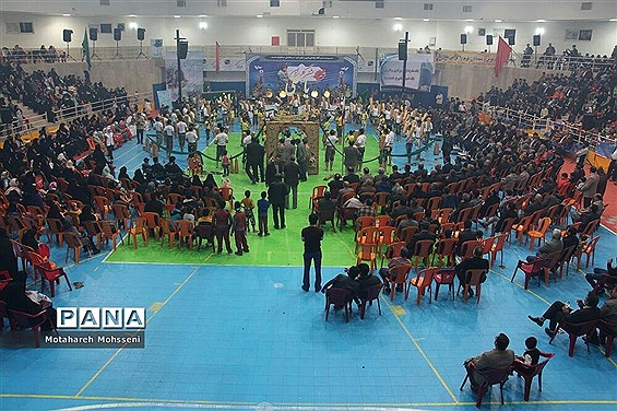 برگزاری جشن گلریزان در  شهرستان بیرجند