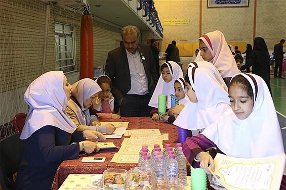 بازدید مسئولان آموزش و پرورش استان فارس از المپیاد ملی رویش