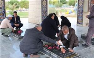 اداره آموزش و پرورش شبانکاره با آرمانهای امام تجدید میثاق کردند