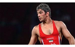 مرد طلایی کشتی آزاد ایران المپیکی شد