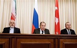 بیانیه مشترک وزرای امور خارجه ایران،  روسیه و ترکیه در ژنو