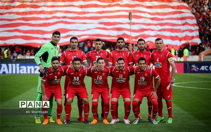 پرسپولیس 2017 تیمی