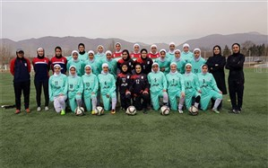 دعوت از 19 بازیکن به اردوی تیم ملی فوتبال دختران جوان ایران