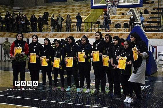 اختتامیه مسابقات بسکتبال جام فجر در شیراز