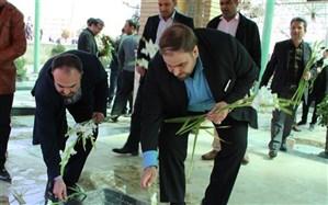 تجدید میثاق شهردار چهاردانگه با آرمانهای شهدا